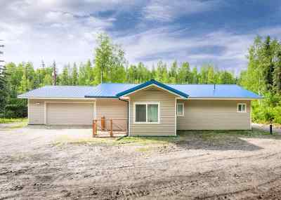 Chena Hot Springs, Clear Creek, Ester, Fairbanks, Fox, Hayes Creek, North Pole, Salcha, Two Rivers Single Family Home For Sale: 2941 Chena Hot Springs Road