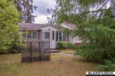 Fairbanks AK Single Family Home For Sale: $119,900