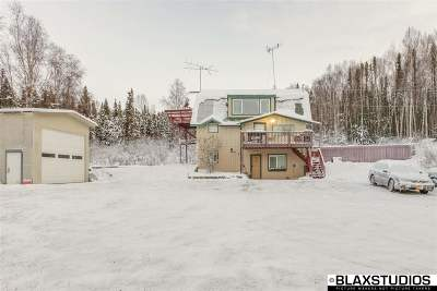 Chena Hot Springs, Clear Creek, Ester, Fairbanks, Fox, Hayes Creek, North Pole, Salcha, Two Rivers Single Family Home For Sale: 730 Winch Road