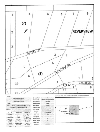 Residential Lots & Land For Sale: 47 Mile Steese Highway