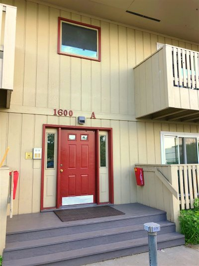 Fairbanks Condo/Townhouse For Sale: 1600 Washington Dr.