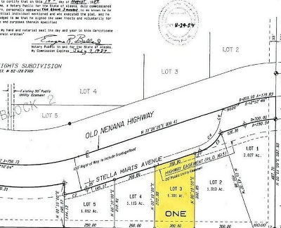 Fairbanks Residential Lots & Land For Sale: Lot 3 Stella Maris Avenue