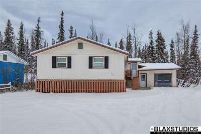 Fairbanks AK Single Family Home For Sale: $145,000