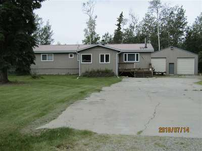 Delta Junction AK Single Family Home For Sale: $150,000