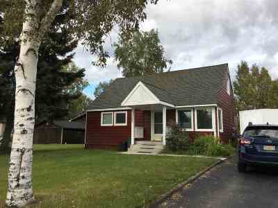 Fairbanks North Star Borough Single Family Home For Sale: 1089 Park Drive