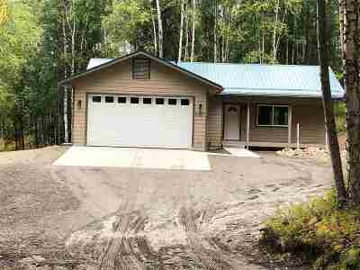 Fairbanks Single Family Home For Sale: 695 Grubstake Road