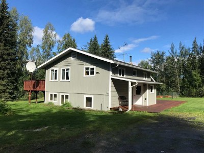 Fairbanks AK Single Family Home For Sale: $239,500