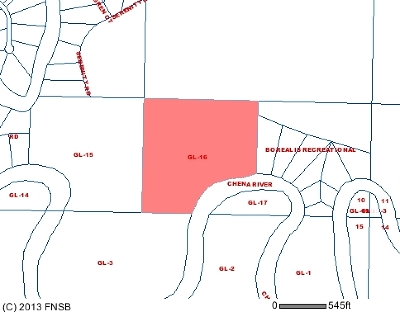 North Pole Residential Lots & Land For Sale: Nhn Chena River