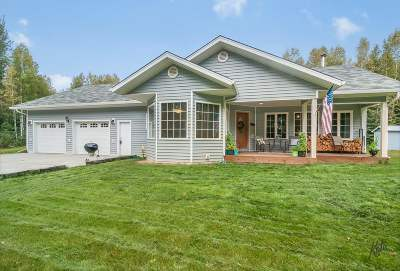 NORTH POLE Single Family Home For Sale: 2890 Badger Road