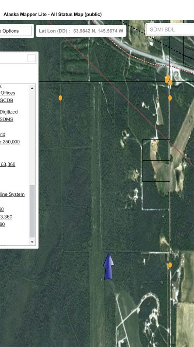 Delta Junction Residential Lots & Land For Sale: Nhn Alaska Highway