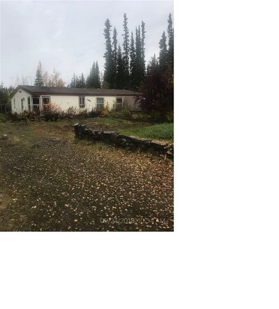 North Pole AK Single Family Home For Sale: $89,000