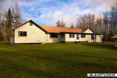 Delta Junction AK Single Family Home For Sale: $179,999