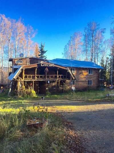 Fairbanks Single Family Home For Sale: Nhn Elliott Highway