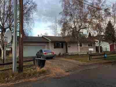 Fairbanks AK Single Family Home For Sale: $187,000