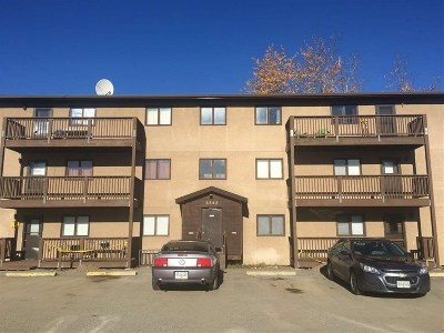 Fairbanks North Star Borough Condo/Townhouse For Sale: 3282 Adams Drive