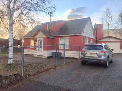 Fairbanks AK Single Family Home For Sale: $135,000