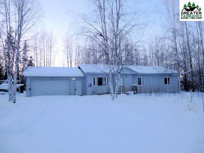 North Pole Single Family Home For Sale: 3545 Pedal Court