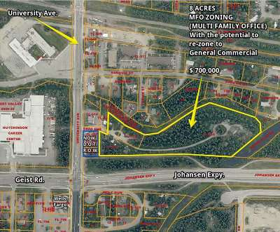Fairbanks Residential Lots & Land For Sale: 3600 Dead End Alley