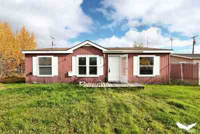 North Pole AK Single Family Home For Sale: $129,900