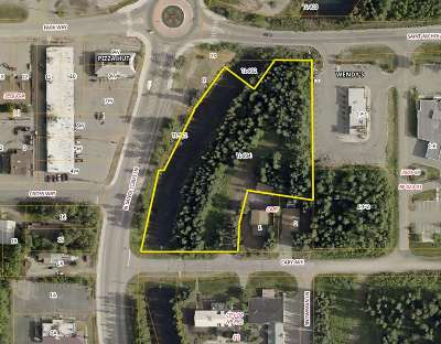 Fairbanks Commercial Lots & Land For Sale: Nhn Santa Claus Lane