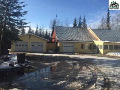 North Pole AK Single Family Home For Sale: $190,000