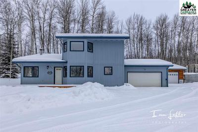 Fairbanks Single Family Home Pending-Contingency: 460 Snowy Owl Lane