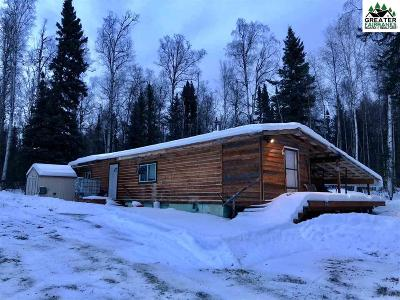 Salcha AK Single Family Home For Sale: $89,900