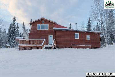Fairbanks Single Family Home For Sale: 750 McGrath Road