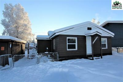Fairbanks AK Single Family Home For Sale: $124,900