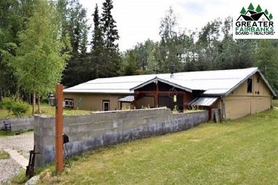 Fairbanks AK Single Family Home For Sale: $99,000