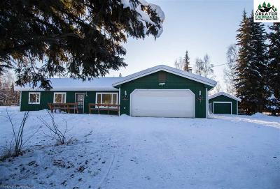 North Pole Single Family Home For Sale: 1119 Airline Drive