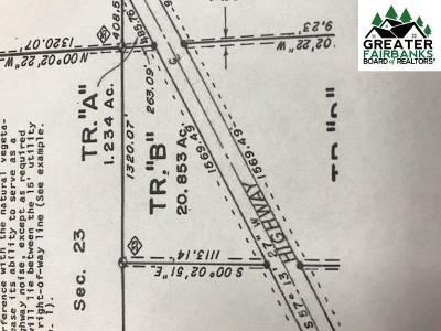 Central Residential Lots & Land For Sale: Tract B Steese Highway