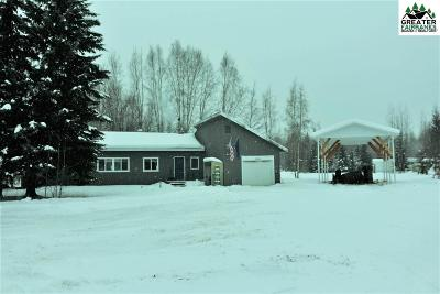 North Pole AK Single Family Home For Sale: $125,000