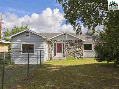 Fairbanks North Star Borough Single Family Home For Sale: 1000 Pioneer Road