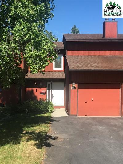 Fairbanks Condo/Townhouse For Sale: 4934 Dartmouth Drive