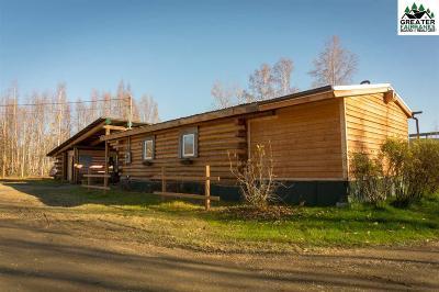 Fairbanks Single Family Home For Sale: 2195 Old Elliott Highway