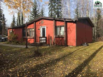 North Pole Single Family Home For Sale: 3824 Plack Road