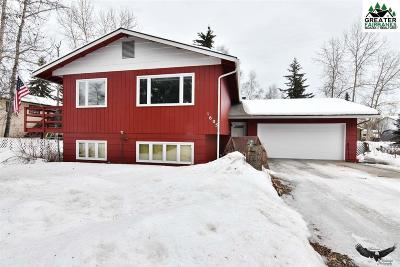 Fairbanks, North Pole Single Family Home For Sale: 1605 Madison Drive