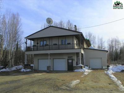 North Pole Single Family Home For Sale: 1230 Burgess Airstrip Road