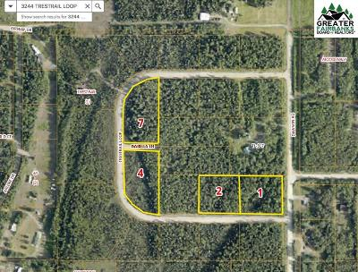 North Pole Residential Lots & Land Pending-Take Back Up: Nhn Trestrail Loop