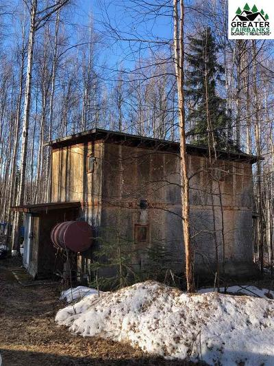 Fairbanks AK Single Family Home For Sale: $68,500