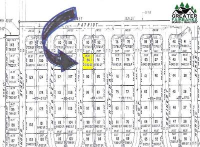North Pole Residential Lots & Land For Sale: 814 Marquette Loop