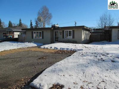 Fairbanks AK Single Family Home For Sale: $155,000