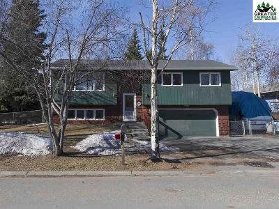 Fairbanks AK Single Family Home For Sale: $269,000