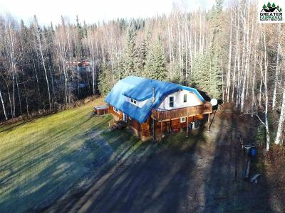 Single Family Home For Sale: 3460 Chena Hot Springs Road