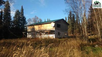 Fairbanks Single Family Home For Sale: 110 Swampy Hollows