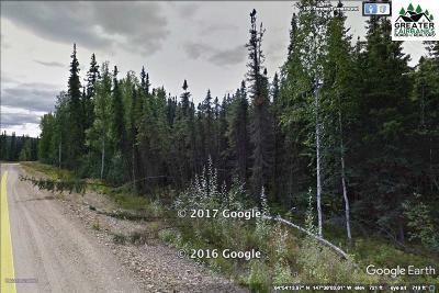 Fairbanks Residential Lots & Land For Sale: L7b1 Nhn Teresa Turnaround/McGrath