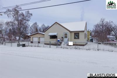 Fairbanks Single Family Home For Sale: 1022 4th Avenue