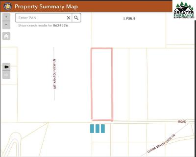 Fairbanks Residential Lots & Land For Sale: Nhn Nine Mile Hill Road