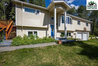 Fairbanks Single Family Home For Sale: 3720 Hardluck Drive